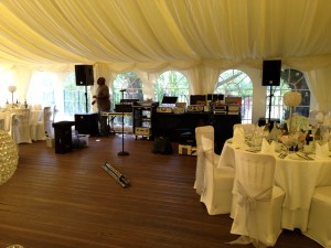 Ballard & Sarno Wedding 29.06.12 -The Soul Man Set Up
