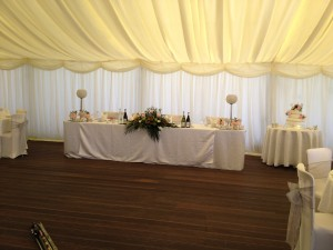Ballard & Sarno Wedding 29.06.12 - Top Table