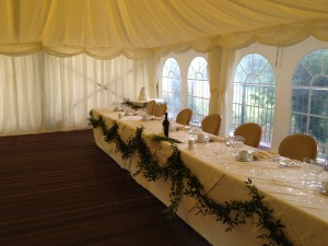 Broe & Everitt Wedding 25.08.12 - Top Table 2