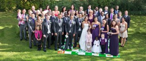 Nathan & Carlie David Wedding 22nd September - Group Picture