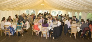 Scott Wedding 28th July 2012 - Marquee During Meal