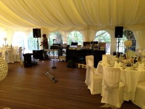 Ballard & Sarno Wedding 29.06.12 -The Soul Man Set Up