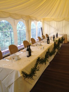 Broe & Everitt Wedding 25.08.12 - Top Table