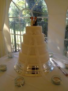Farr & Stewart Wedding 31.08.12 - Wedding Cake