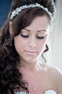 Nathan & Carlie David Wedding 22nd September - Bride