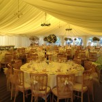 Priest & Howlett Wedding 21.07.12 - Marquee Set Up