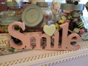 Priest & Howlett Wedding 21.07.12 - Sweet Trolley 'Smile'